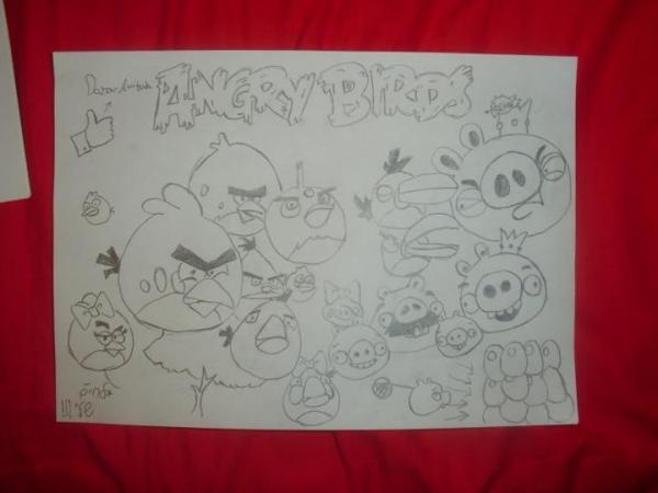 Angry Birds by dana69
